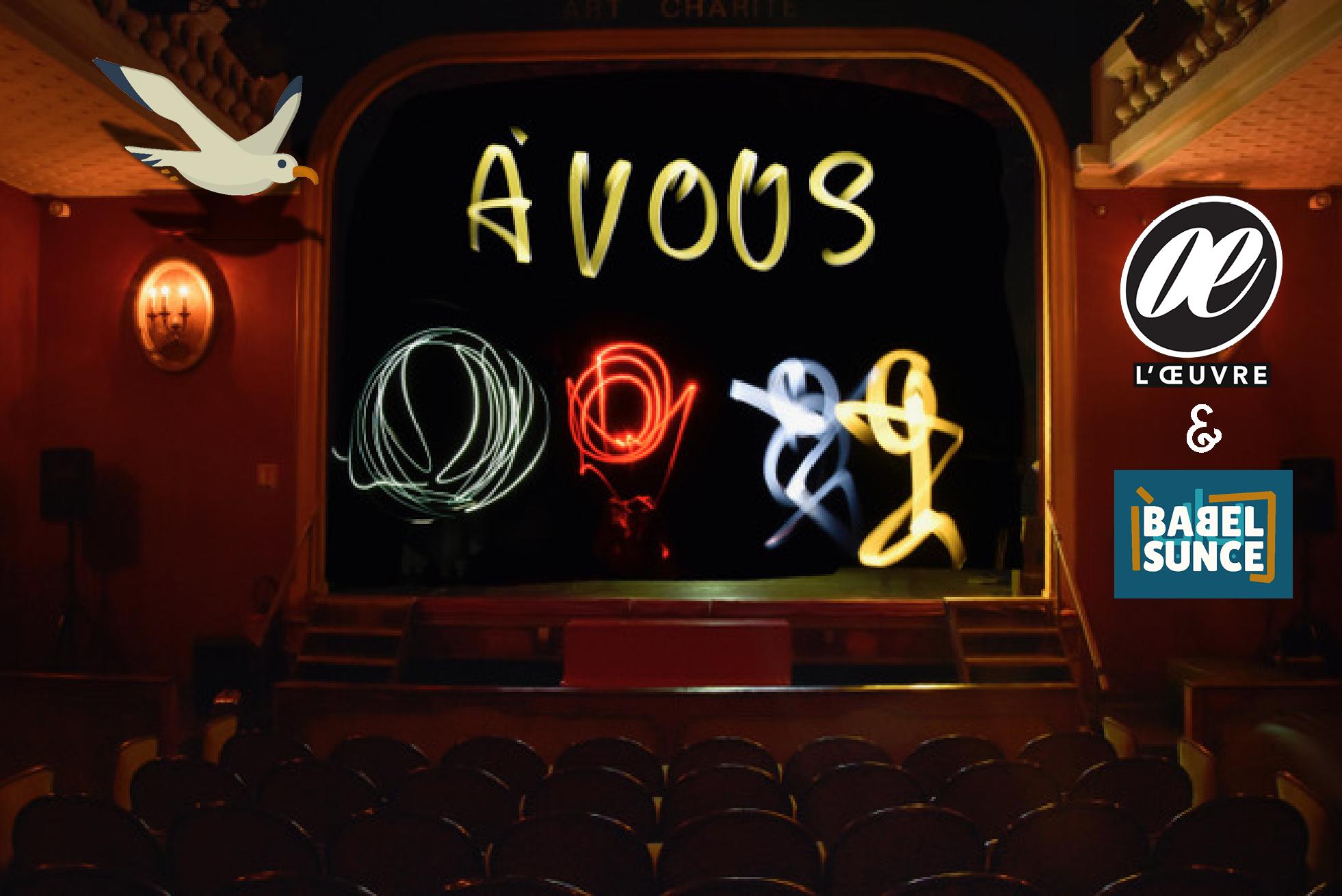 Scène ouverte numérique #3 | Théâtre de L'Œuvre